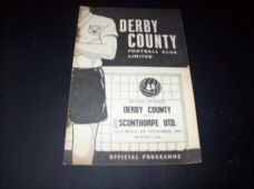 Derby County v Scunthorpe United, 1963/64